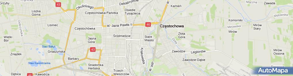 Zdjęcie satelitarne Kaspersky Store Sp. z o.o.