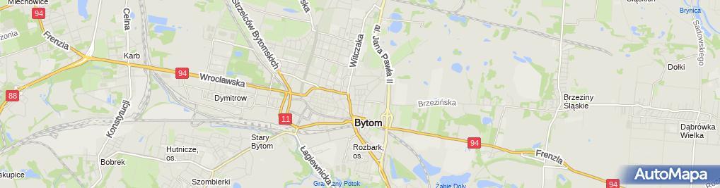 Zdjęcie satelitarne Katarzyna Ciułek Adrian Ciułek