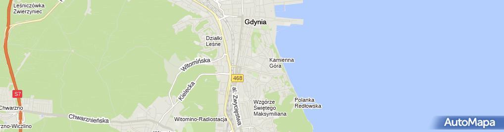 Zdjęcie satelitarne Katarzyna Krajewska PHU Direct