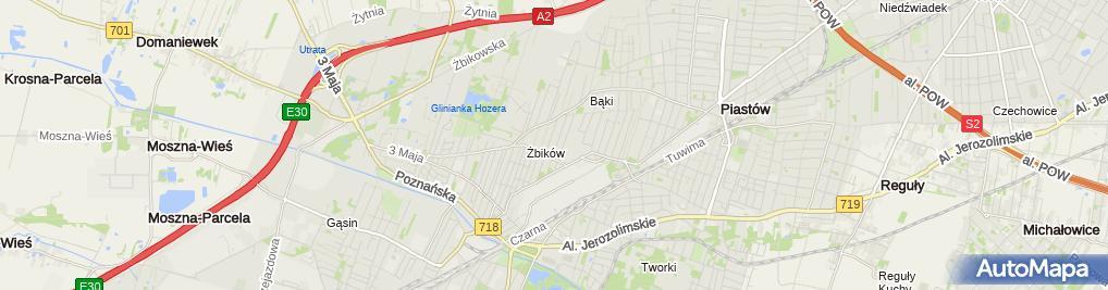 Zdjęcie satelitarne Katarzyna Mieczkowska