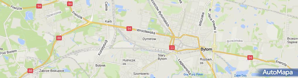 Zdjęcie satelitarne Katarzyna Puzon - Działalność Gospodarcza
