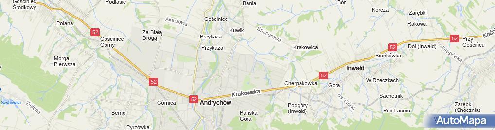 Zdjęcie satelitarne Katarzyna Wróbel - Działalność Gospodarcza