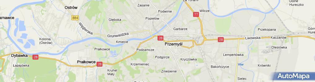 Zdjęcie satelitarne Kaz Usługi i Handel Zuzanna i Kazimierz Łabinowicz