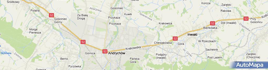 Zdjęcie satelitarne Kazbud