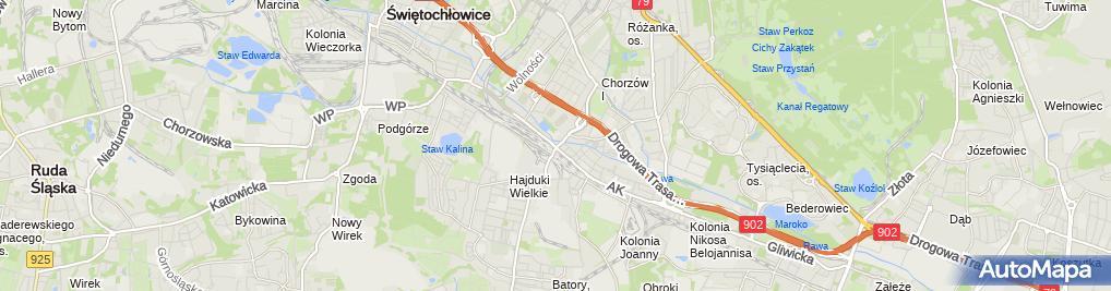 Zdjęcie satelitarne Kazimierz Bialik - Działalność Gospodarcza