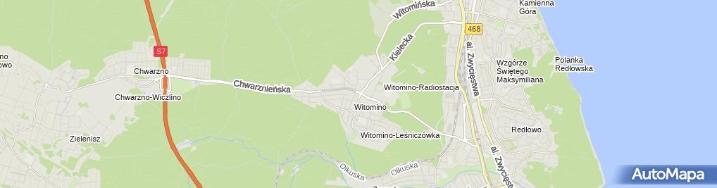 Zdjęcie satelitarne Kidsland Centrum Zabaw Iwona i Jarosław Łobos