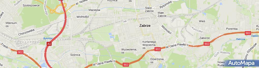 Zdjęcie satelitarne Kielar P P i Paweł Kielar
