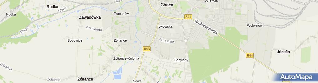 Zdjęcie satelitarne King Market