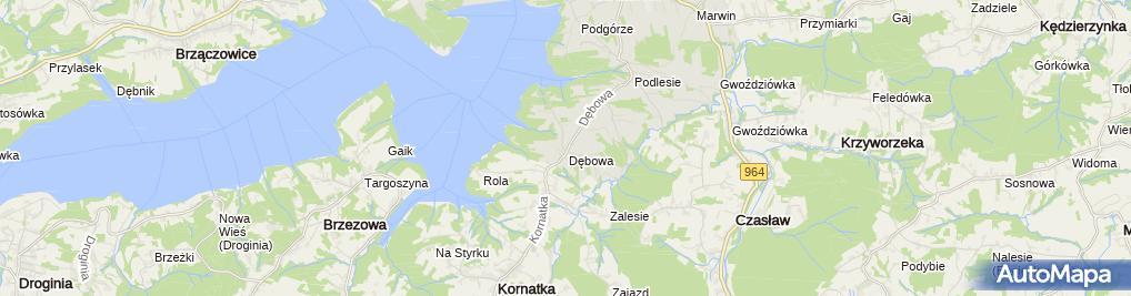 Zdjęcie satelitarne Kiosk Spożywczo Przemysłowy