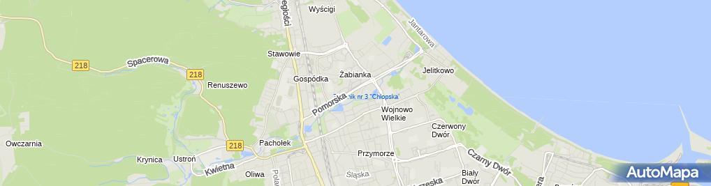 Zdjęcie satelitarne Kiosk Spożywczy