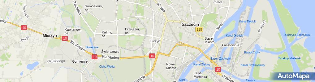 Zdjęcie satelitarne Klarens Andrzej Śmigel