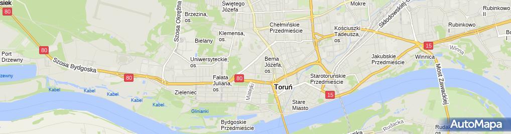 Zdjęcie satelitarne Klepaczko Wojciech Pracownia Protetyczna