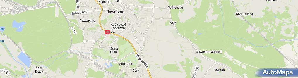 Zdjęcie satelitarne Klimagrzew Serwis Bogdan Michalski