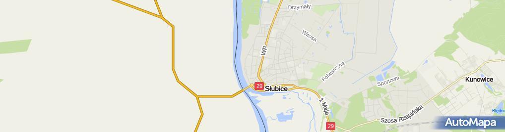 Zdjęcie satelitarne Klub Internet Infostrada