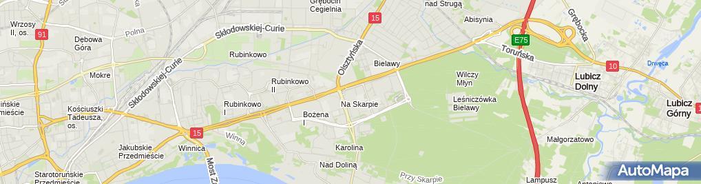 Zdjęcie satelitarne Klub Miłośników Citroena 2Cv