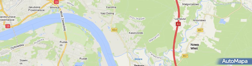 Zdjęcie satelitarne Kołowski Krzysztof Salmix K.Kołowski, G.Lewalski Zakład Produkcji Spożywczej