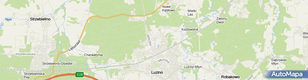 Zdjęcie satelitarne Komitet Wyborczy Wyborców -Luzino Najwyższy Czas Na Zmiany