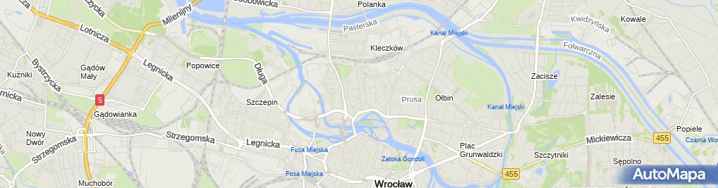 Zdjęcie satelitarne Kompleksowa Obsługa Nieruchomości Partner Bartosz Zakrzewski