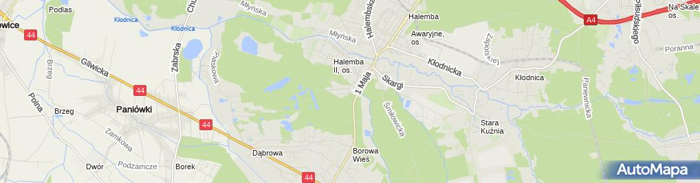 Zdjęcie satelitarne Kompleks