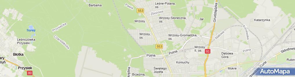 Zdjęcie satelitarne Konopacki Marek Agro Kontakt Przedsiębiorstwo Produkyjno Handlowo Usługowe