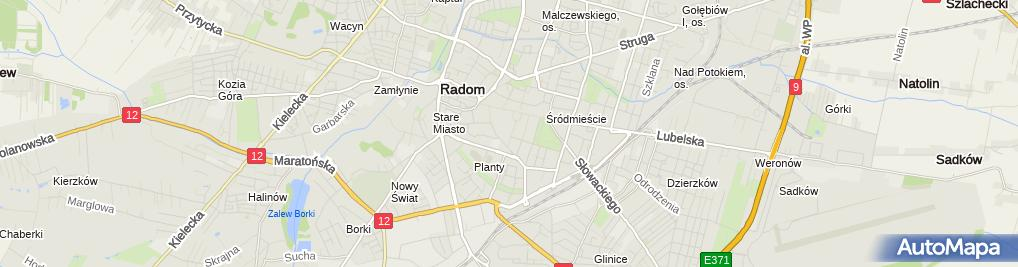 Zdjęcie satelitarne Kontra Przedsiębiorstwo Prywatne Bożena Głowiak Tamara Czarnocka