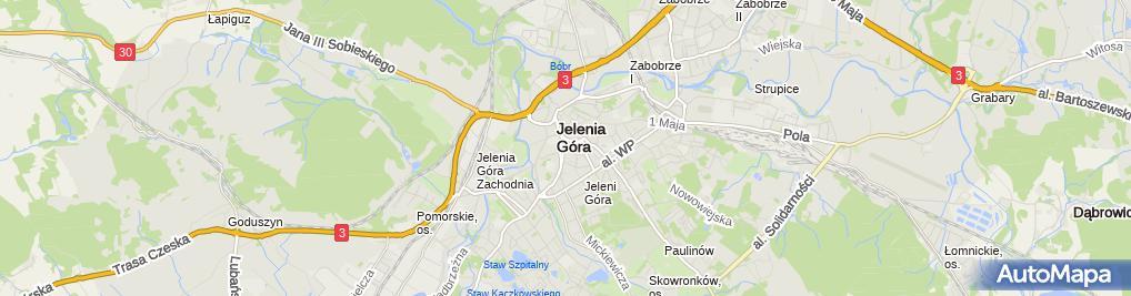 Zdjęcie satelitarne Korzycki Jarosław