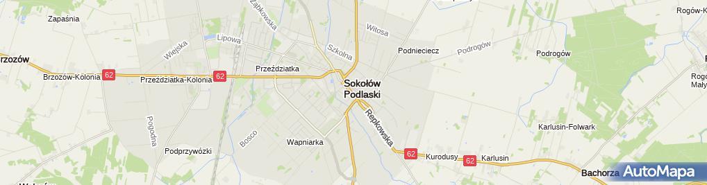 Zdjęcie satelitarne Kosmet