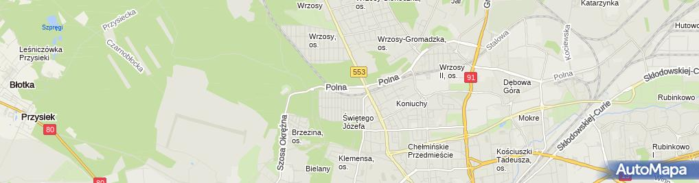 Zdjęcie satelitarne Kowalczyk Krzysztof Daniel Max Tor