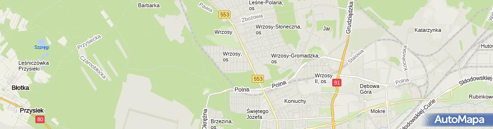 Zdjęcie satelitarne Kozłowski Mirosław Miko