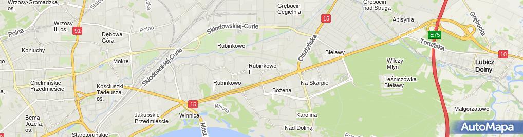 Zdjęcie satelitarne Kram Małgorzata Kramarczyk i Wspólnicy
