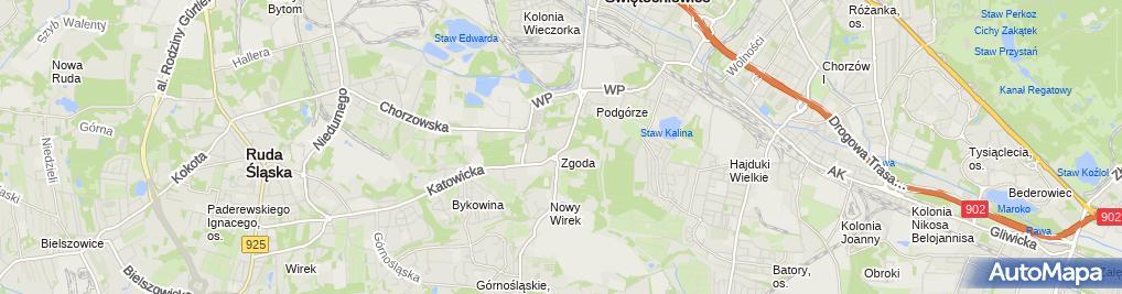 Zdjęcie satelitarne Krótki Piotr Mechanika Samochodowa, Regeneracja Części