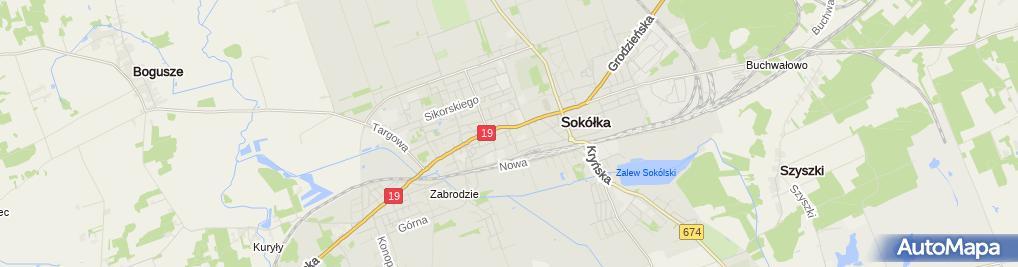 Zdjęcie satelitarne Krystyna Jakubowicz
