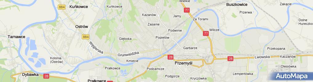 Zdjęcie satelitarne Krystyna Walendziak - Działalność Gospodarcza
