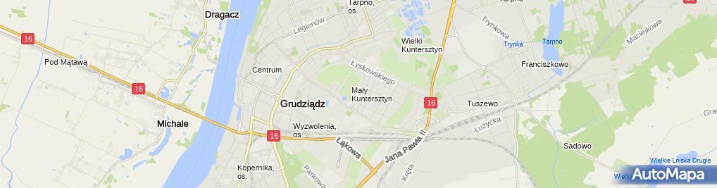 Zdjęcie satelitarne Krzysztof Cieszyński