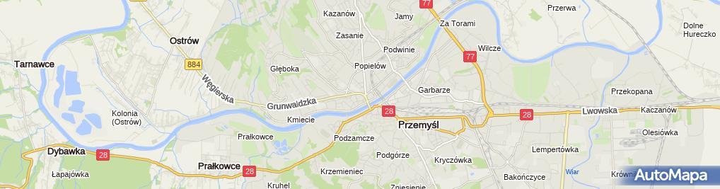 Zdjęcie satelitarne Krzysztof Hołowienko - Działalność Gospodarcza