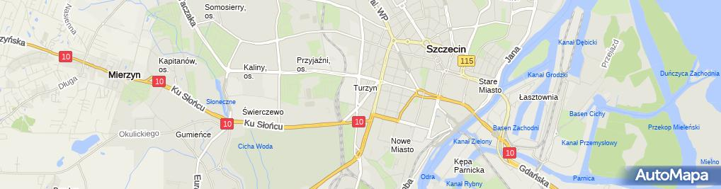 Zdjęcie satelitarne Krzysztof Jackun