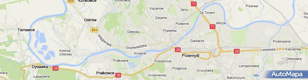 Zdjęcie satelitarne Krzysztof Tkaczyk - Działalność Gospodarcza