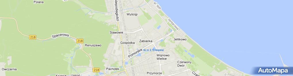 Zdjęcie satelitarne KTW - Elektro Krzysztof Tomaszewski /Wspólnik Spółki Cywilnej