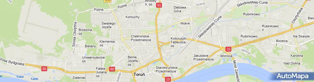 Zdjęcie satelitarne Kubo Tomasz Kowalski