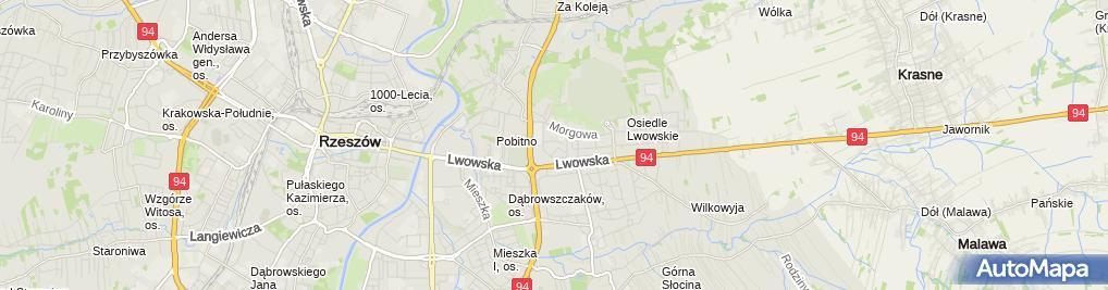 Zdjęcie satelitarne Kupiec Kolporter Worosz
