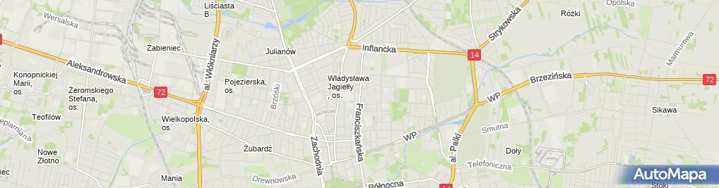 Zdjęcie satelitarne Kurak Firma Transportowo Usługowa Piotr Kurak