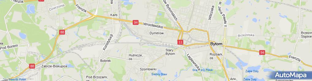 Zdjęcie satelitarne Kurowska Karkut Krystyna