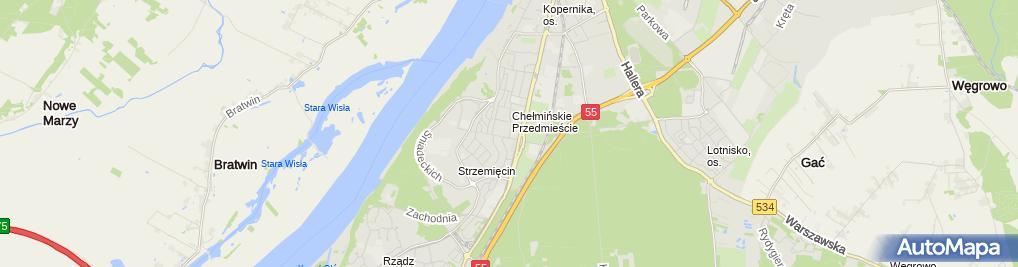 Zdjęcie satelitarne L-Tech Rozwiązania i.T Łukasz Graczewski