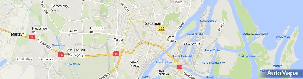 Zdjęcie satelitarne Labirynt LT Damian Koziołek
