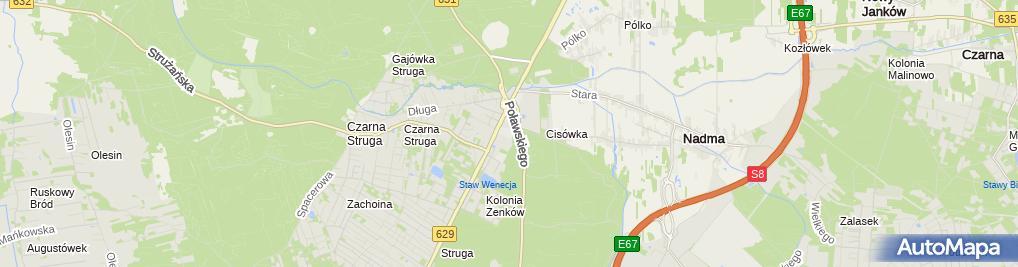 Zdjęcie satelitarne Lakman Sp. z o.o.