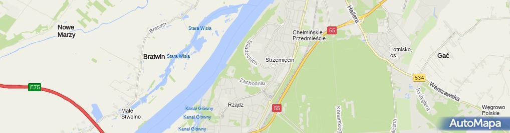 Zdjęcie satelitarne Laserj - Firma Usługowo - Handlowa Zdzisław Jakiel