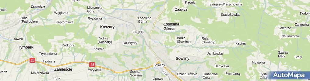 Zdjęcie satelitarne Laskopol