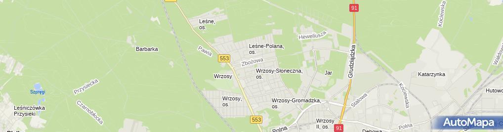 Zdjęcie satelitarne Lassar Jarosław Małek