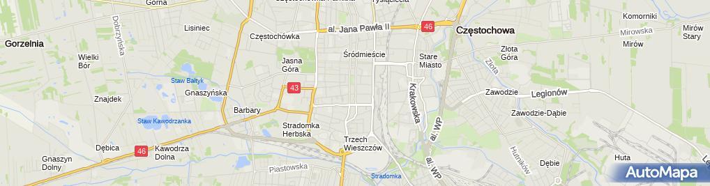 Zdjęcie satelitarne Legali Kancelaria Prawno-Windykacyjna Karolina Mostowska
