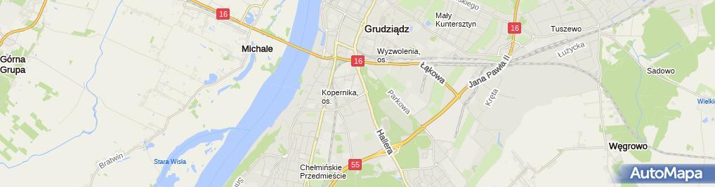 Zdjęcie satelitarne lejkowski.net